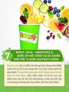 Boost Juice Bars | Post 2