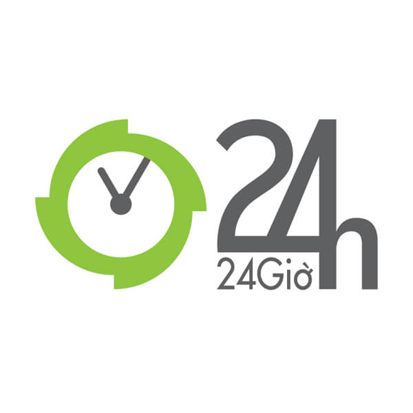Báo 24h | Logo